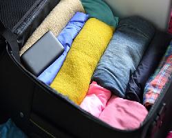 ลดรอยยับเมื่อจัดกระเป๋าไปเที่ยว